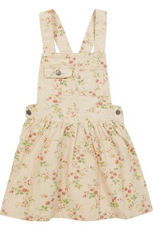 Ralph Lauren Floral corduroy overall dress