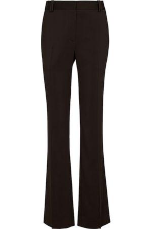 The Row Idra high-rise straight crêpe pants