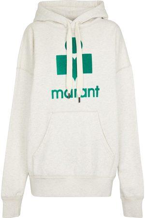 Isabel Marant Mansel logo cotton-blend hoodie