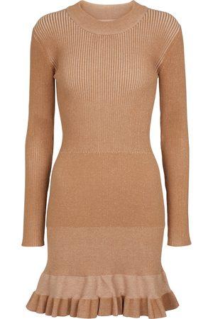 Chloé Flared knit minidress