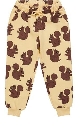 Mini Rodini Squirrel organic cotton sweatpants
