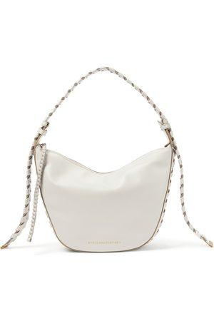 Stella McCartney Logo faux leather shoulder bag