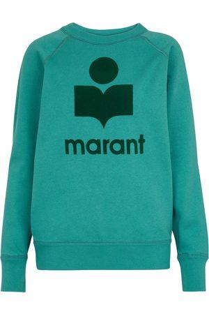 Isabel Marant Milly logo cotton-blend sweatshirt