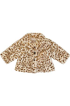 BONPOINT Baby leopard-print faux fur jacket