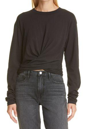 Frame Women's Wrap Around Cotton T-Shirt