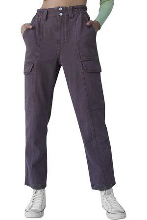 PACSUN Women's Elastic Waist Cargo Pants