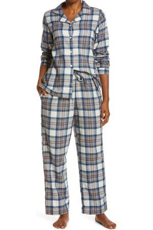 L.L.BEAN Women's Scotch Plaid Flannel Pajamas