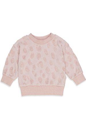 Huxbaby Sweatshirts - Girls' Terry Textured Sweatshirt - Baby