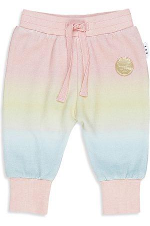 Huxbaby Sweatpants - Girls' Rainbow Track Pants - Baby