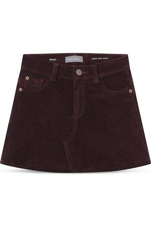 Dl 1961 Girls' Jenny Denim Mini Skirt - Big Kid