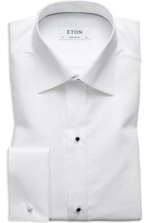 Eton Silver Bib Contemporary Regular Fit Tuxedo Shirt