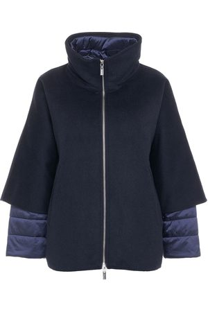Gimo's Women Jackets - Wool jacket with down insert