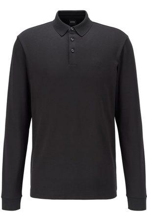 HUGO BOSS Men Polo Shirts - Pado Long Sleeve Polo Shirt