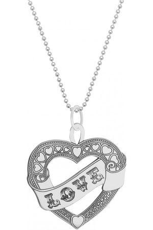 CarterGore Women Necklaces - Large Sailor Heart Pendant Necklace