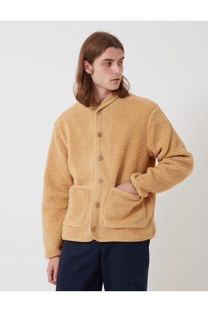 Bhode Fleece Work Jacket Camel