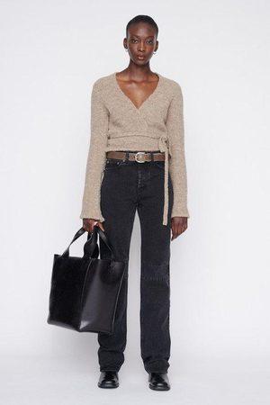 Our Legacy Woman Wrap Knit Boucl Wool