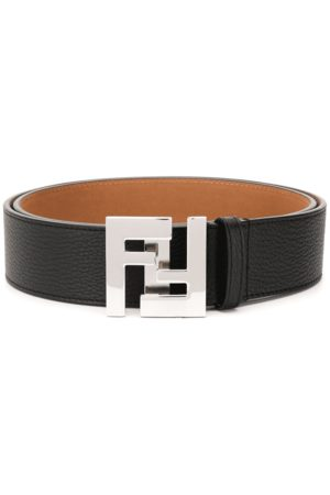 Fendi Men Belts - Logo Buckle Belt