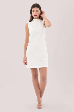 Closet Ivory Tunic Mini Dress