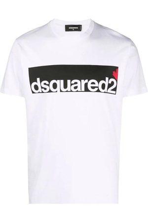 Dsquared2 Men Short Sleeve - Mens - logo print short sleeve T-shirt