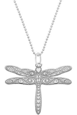 CarterGore Medium Dragonfly Pendant Necklace