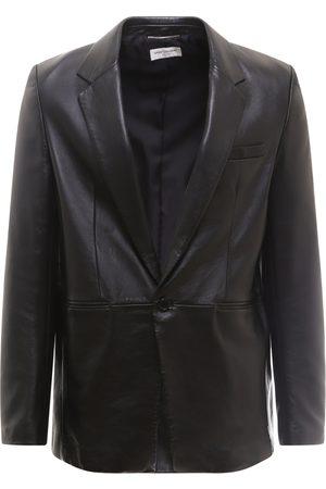 Saint Laurent Paris Leather blazer