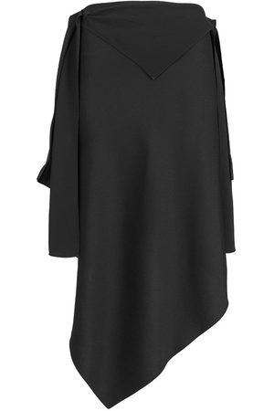 Givenchy Satin Asymmetrical Skirt