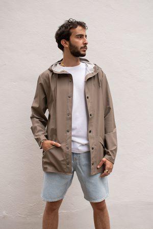 Rains Taupe Jacket