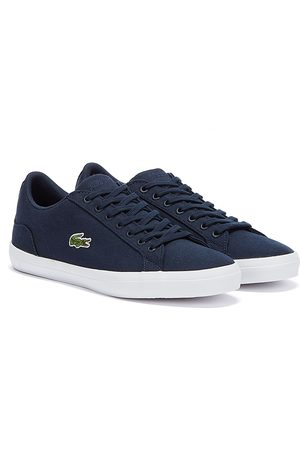 Lacoste Mens Navy Lerond BL 2 CAM Trainers