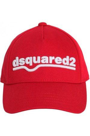 Dsquared2 Men Caps - Kids logo-embroidered cap