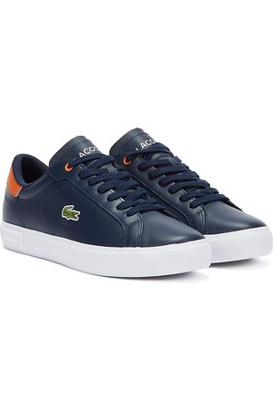 Lacoste Powercourt Mens Navy Trainers