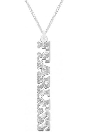 CarterGore Women Necklaces - FEARLESS Word Pendant Necklace