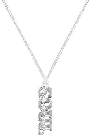 CarterGore SOUL Word Pendant Necklace