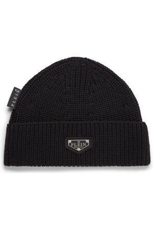 Philipp Plein Wool Hat Iconic Plein