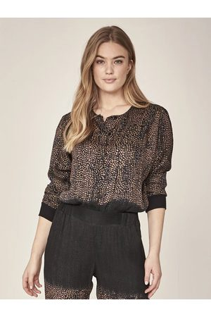 Nü by Staff Ina Blouse- Mocca mousse mix-691840
