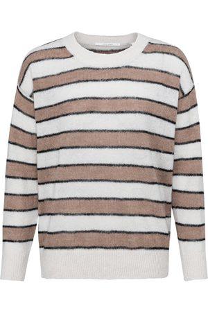YAYA French Oak Multi Stripe Sweater