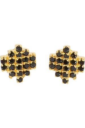 Jewel Tree London Baori Studded Charm Earring