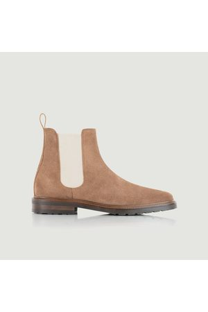 Bobbies Conrad suede leather Chelsea boots Antilope