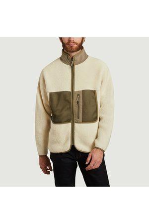 Element Men Fleece Jackets - Gros jack zip-up fleece OATMEAL