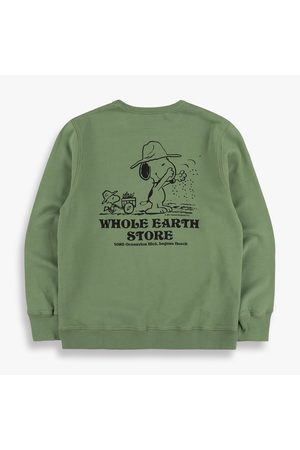TSPTR Whole Earth Store Crew Sweat - Olive