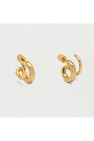 ESTELLA BARTLETT Women Earrings - Double loop hoop, Title: