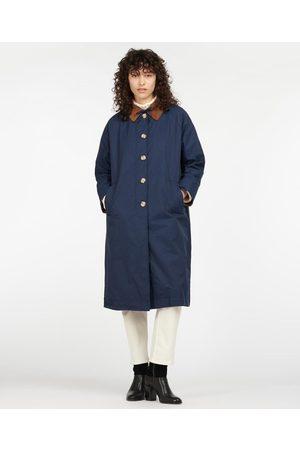 BARBOUR X ALEXA CHUNG Women Outdoor Jackets - Jackie Casual Longline Wax Jacket 8, Colou