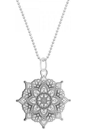 CarterGore Women Necklaces - Mandala Medium Pendant Necklace