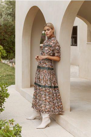 By Malina Iro Maxi Dress