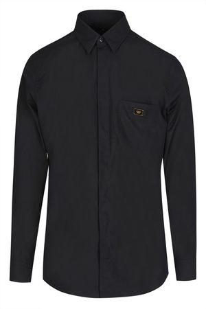 Fendi Men Shirts - PLAQUE POCKET SHIRT
