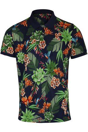 Gant Men Polo Shirts - D2. Humming Garden Pique SS Rugger Polo Shirt