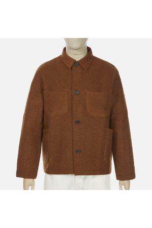 Universal Works Wool Fleece Lumber Jacket - Rust