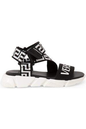 Versace Logo Greca Sandals