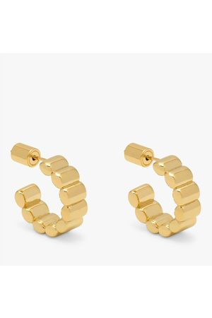 Estella Bartlett Women Earrings - Textured hoop, Title: