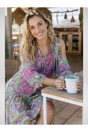 Miss June Women Dresses - Meadow Dress Embroidery
