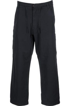 Stone Island Men Straight - Drawstring straight-leg trousers